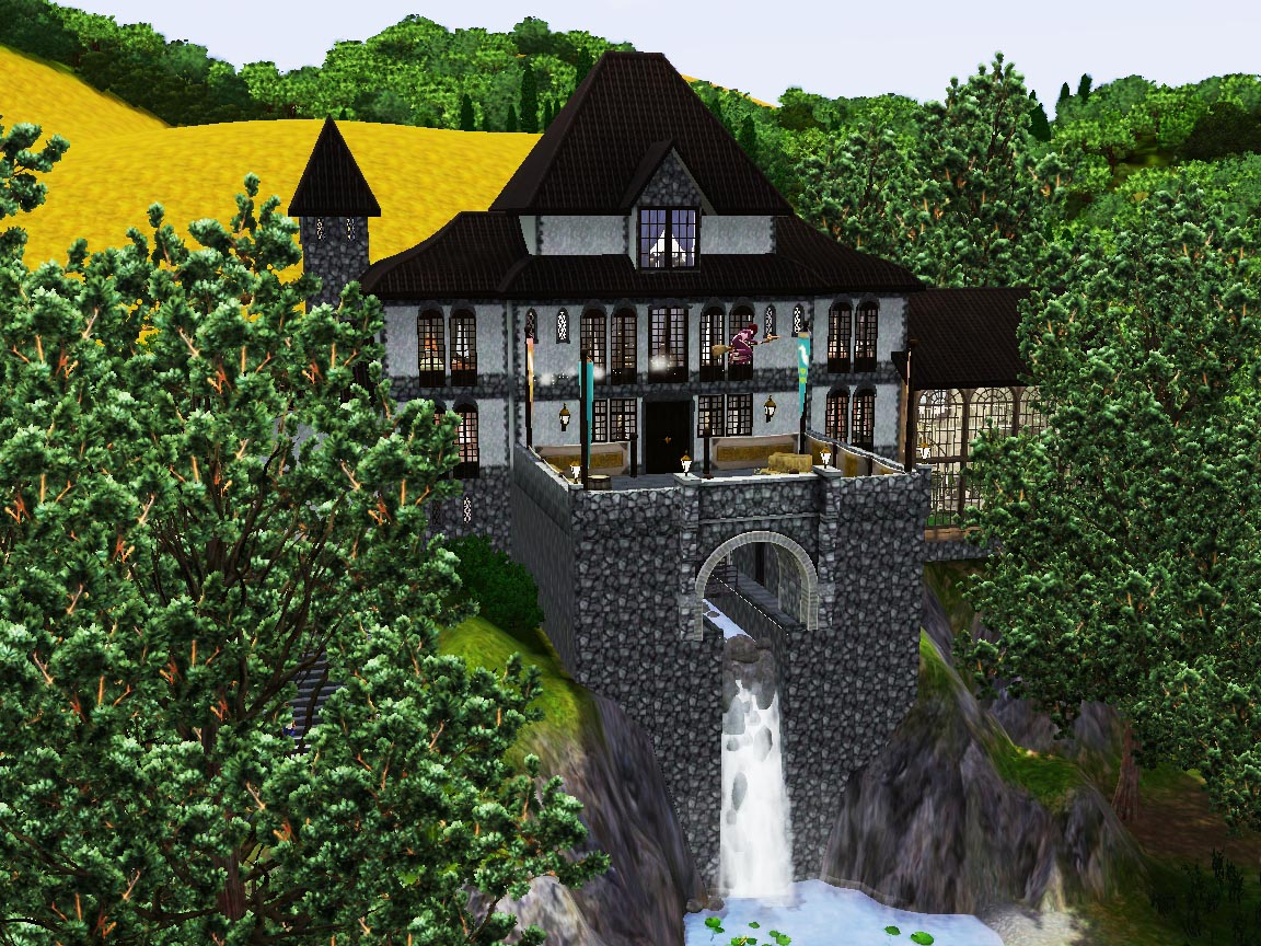 sims 2 japanese fortress - photo #43