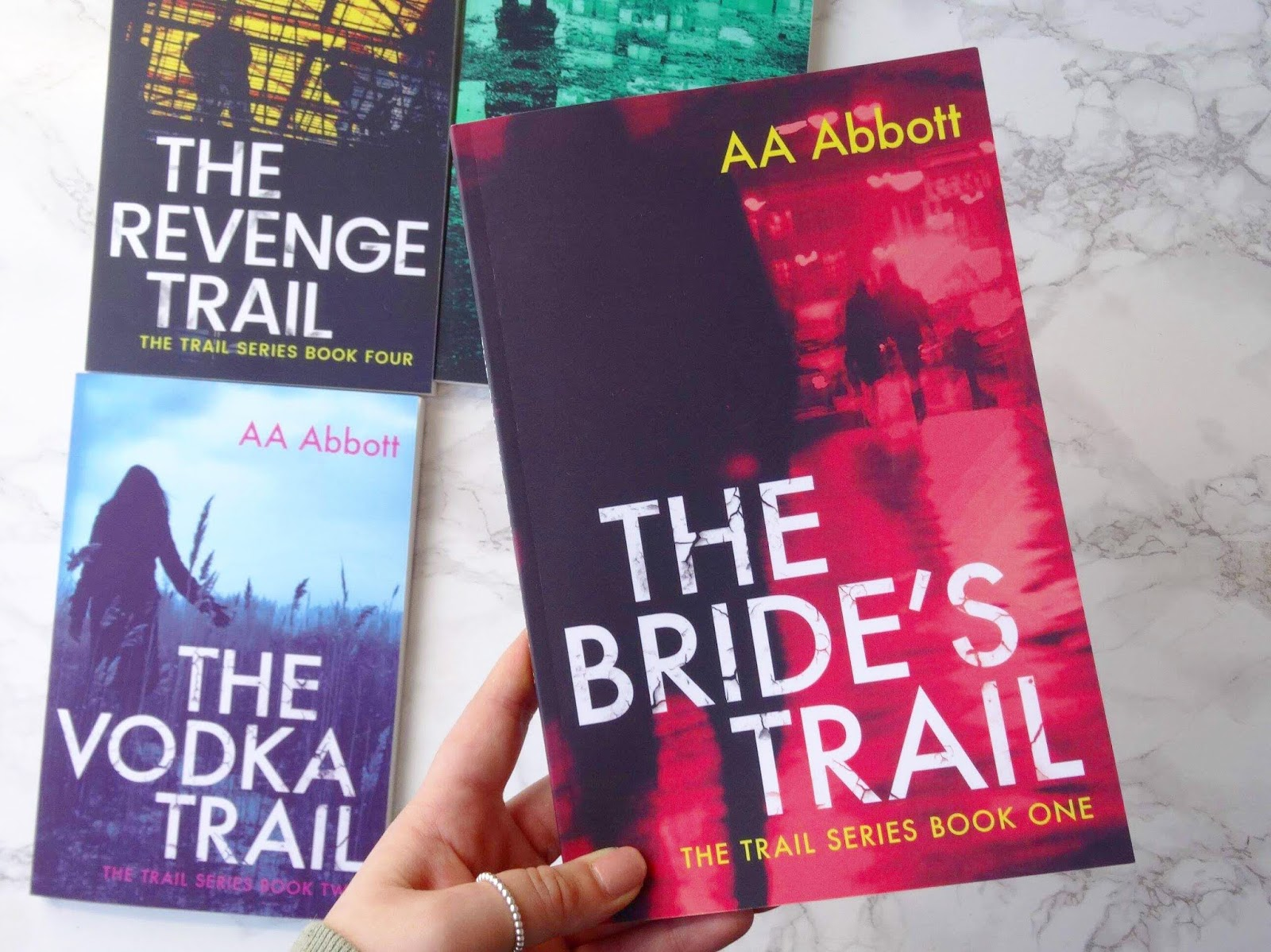 The Bride's Trail by AA Abbott | Book Tour Review