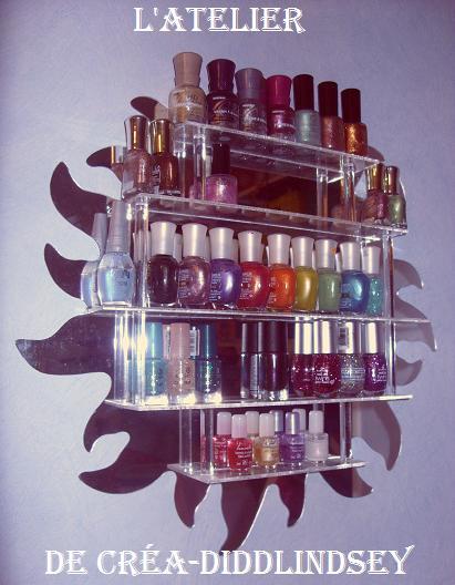 la dodue coquette d fi du lundi rangement de vernis. Black Bedroom Furniture Sets. Home Design Ideas
