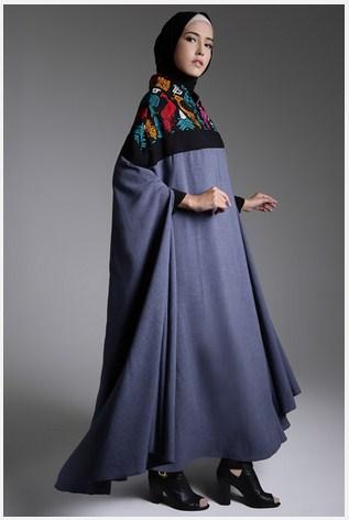 Inspirasi Model Baju Muslim Modern Pesta Bergaya Etnik Khas