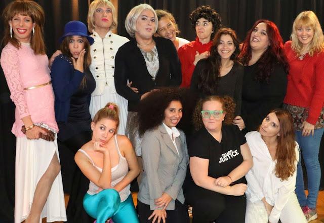 Mujeres Irreversibles Escrita y Dirigida por Gabyta Fridman en el Teatro Border
