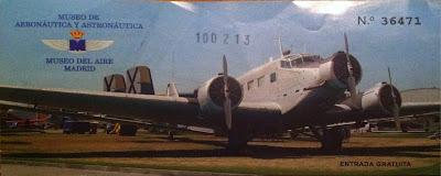 Entrada del Museo del Aire