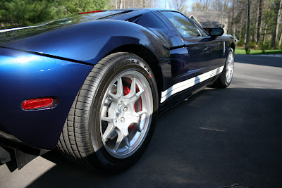 Ford GT Rear Side