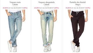 pantalones y vaqueros RG512