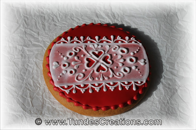 Valentine's cookie by Tunde Dugantsi