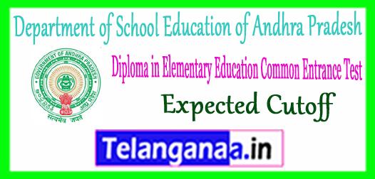 AP DEECET Andhra Pradesh Diploma In Elementary Education Expected Cutoff 2018