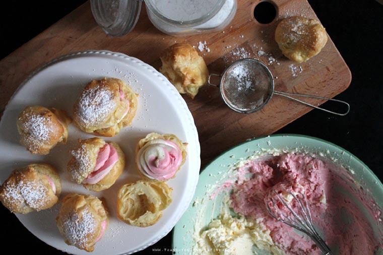 Rezept für Pastel Creampuffs
