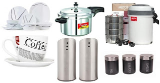 Extra 20% OFF on Kitchen Cookware, Dinner Set & Serveware and Kitchen Storage @ HomeShop18
