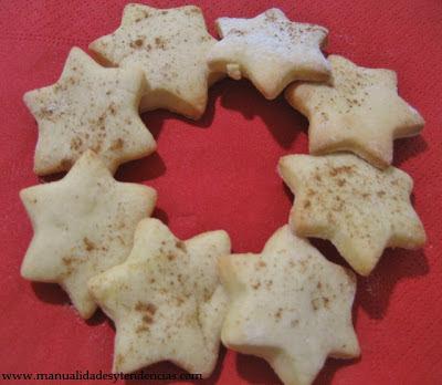 Receta Galletas para los Reyes Magos /  Recipe Winter cookies /Recette  Sablés d'hiver