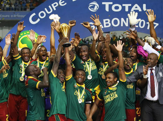 Kalahkan Mesir, Kamerun Juara Piala Afrika