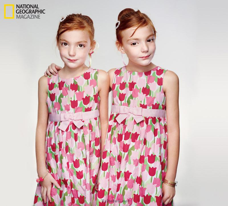 Twins People Photographs No. 11