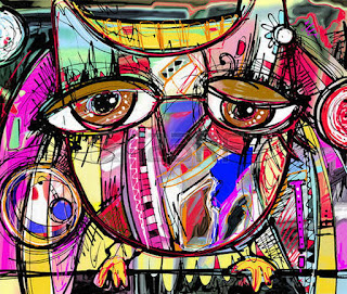 pinturas-modernas-ojos-abstractos