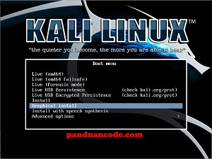 cara install kali linux 2019.1
