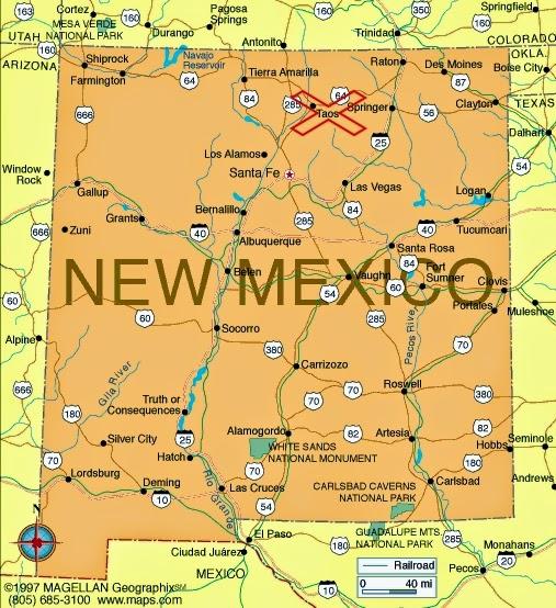 Rio Grande River New Mexico Map.Western Fictioneers New Mexico S Rio Grande Gorge Bridge By Kaye