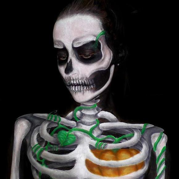 Artista de 16 anos cria trabalhos incríveis de Body Painting