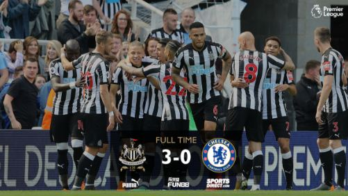 Newcastle United vs Chelsea 3-0 Video Gol & Highlights.