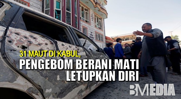 31 maut di Kabul, pengebom berani mati letupkan diri