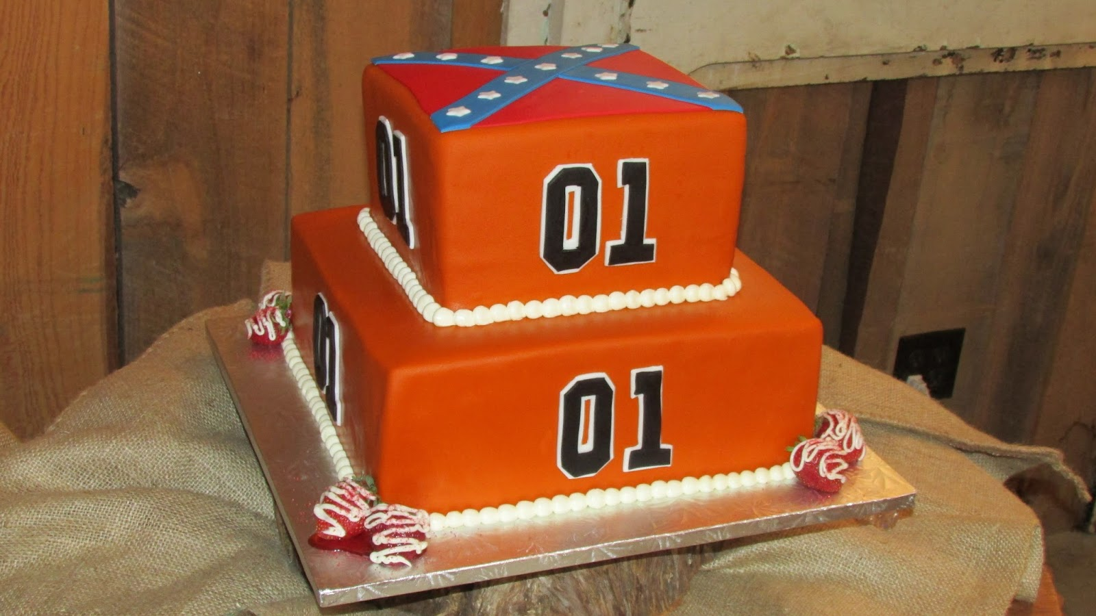 Dukes Of Hazzard Birthday Party Cake Grooms Or Idea