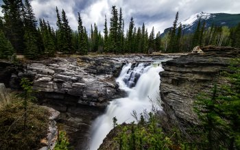 Wallpaper: Athabasca Falls