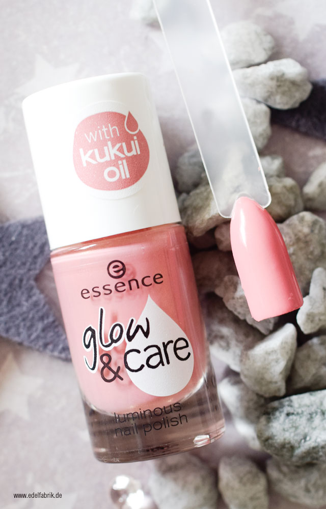 essence glow and care / 03 shine on, swatch