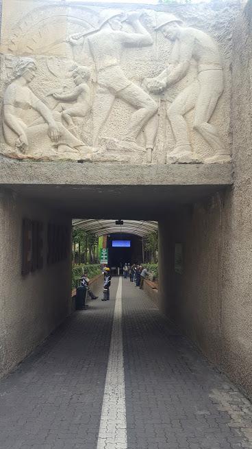 Entrada da Catedral de Sal - Zaquipará