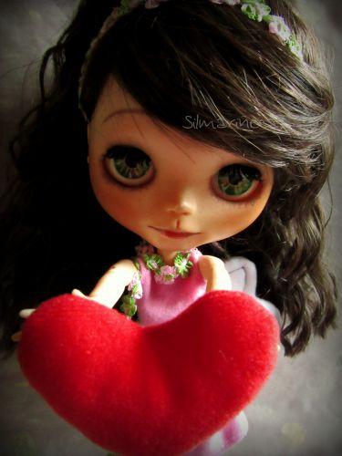 san valentín - caty basaak doll