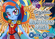 MLPEG Legend of Everfree Rainbow Dash juego