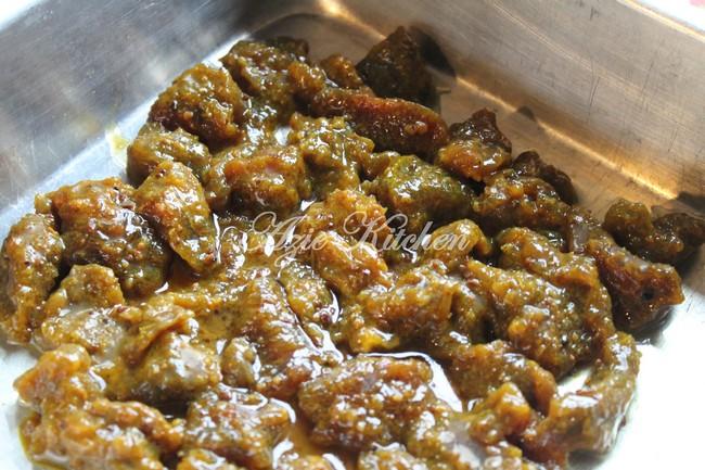 Satay Bakar Dalam Oven