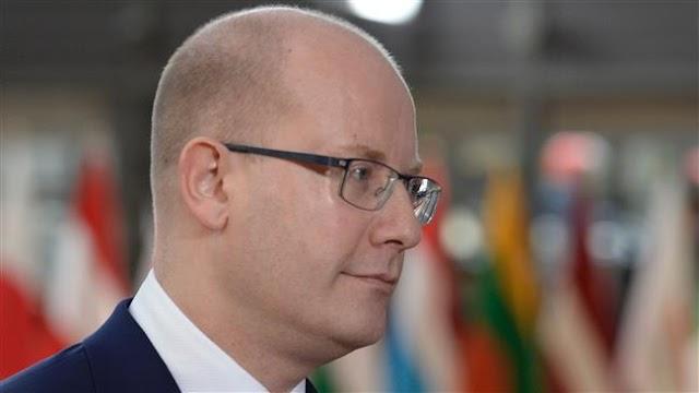 Czech Republic Prime minister Bohuslav Sobotka declares government's resignation
