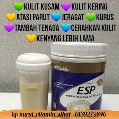 vitamin untuk kulit cantik, gebu dan licin tanpa jerawat