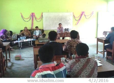 Musyawarah Perencanaan Pembangunan (Musrenbang) Nagari Muara Tais Tahun 2016