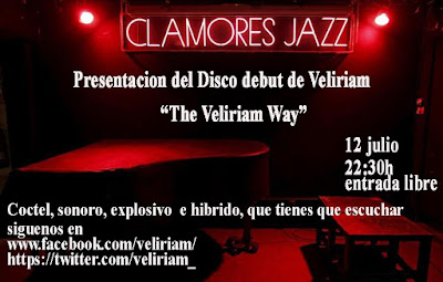 Veliriam Sala Clamores Madrid Concierto