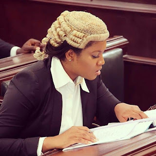 "Aww! Omotola plays role of a beautiful lawyer on new movie ""Alter Ego"""
