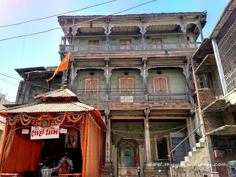 200 year old heritage Dhundiraj Ganesha Temple, Vadodara, Gujarat