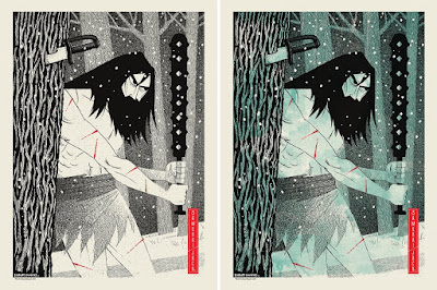 MondoCon 4 Exclusive Samurai Jack Screen Print by Methane Studios x Mondo