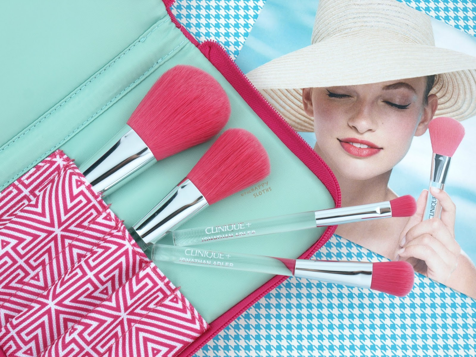 Clinique + Jonathan Adler Collection | Luxe Brush Collection: Review and Swatches