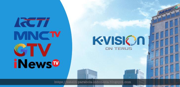 Daftar Frekuensi RCTI, MNCTV dan GVTV di KVision