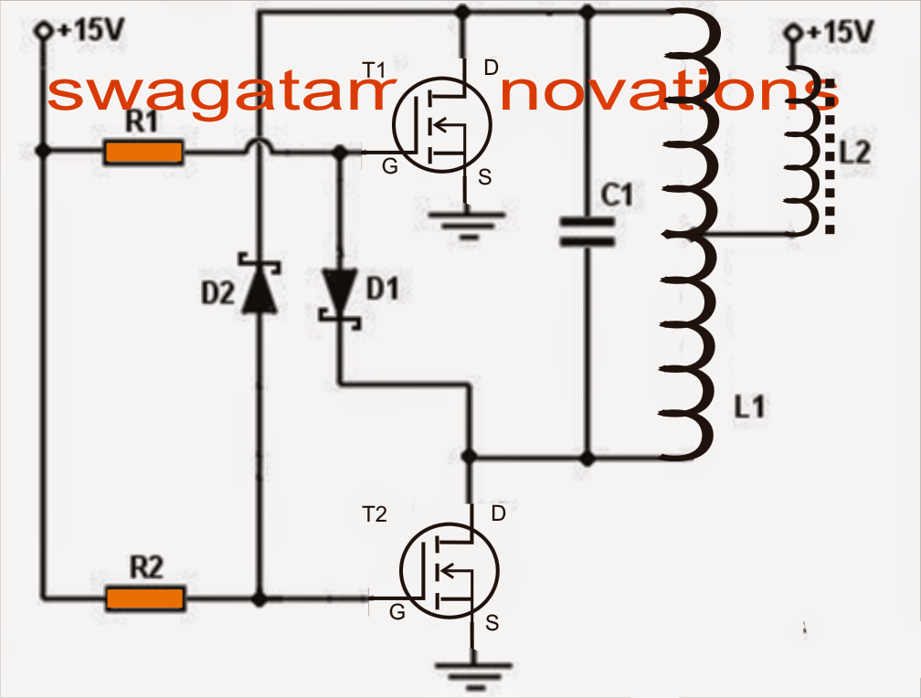 heater power mos fet circuit