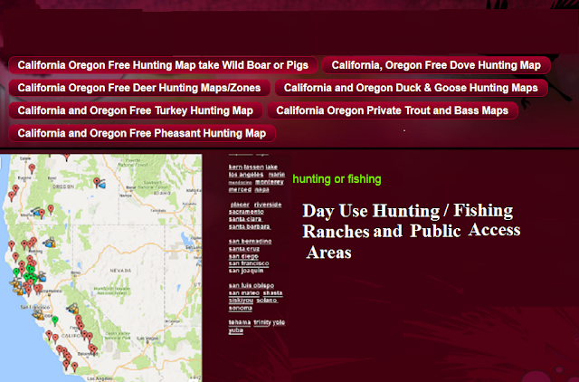 shastina fishing map and fishing report, bait to use and where to fish
