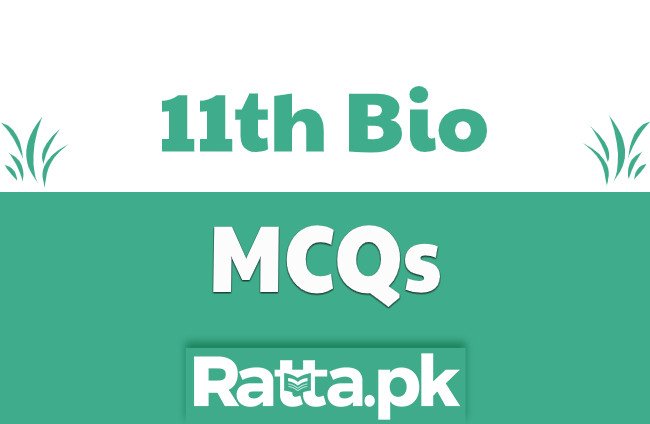 FSc 1st Year Biology Chapter 12 MCQs pdf Download
