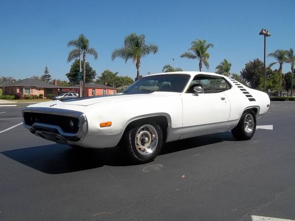 Big Block Tribute Project, 1972 Plymouth Roadrunner