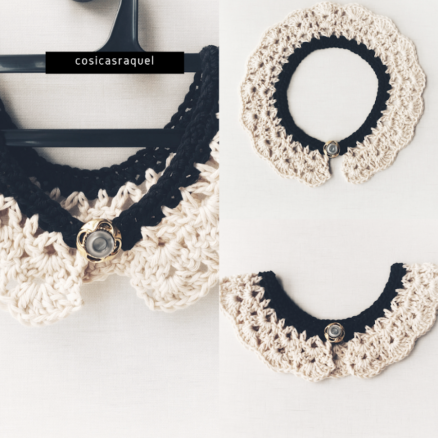 Collar Peter Pan Crochet