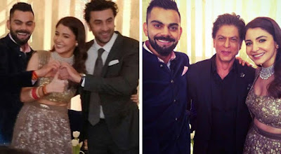 Virat kohli marriage & wedding images and unseen pics with bollywood