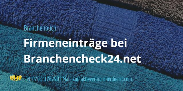 Beitragsbild: Branchencheck24 – Kostenpflichtige Firmeneinträge via Telefon