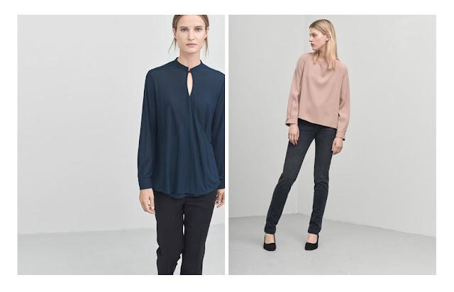Цветные блузки для офиса