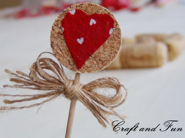 Idee Creative Con Tappi Di Sughero : Riciclo creativo craft and fun idee per san valentino riciclo