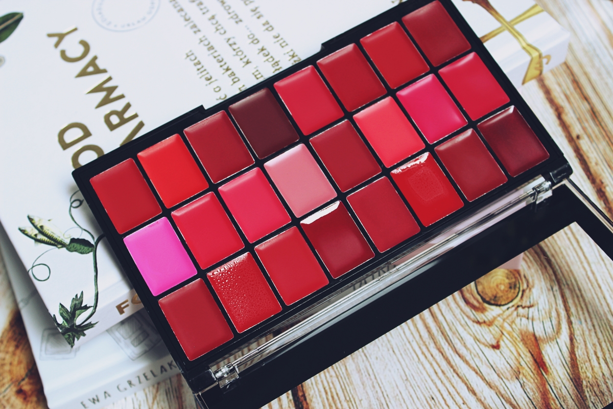 Freedom Makeup Pro Lipstick Palette Reds