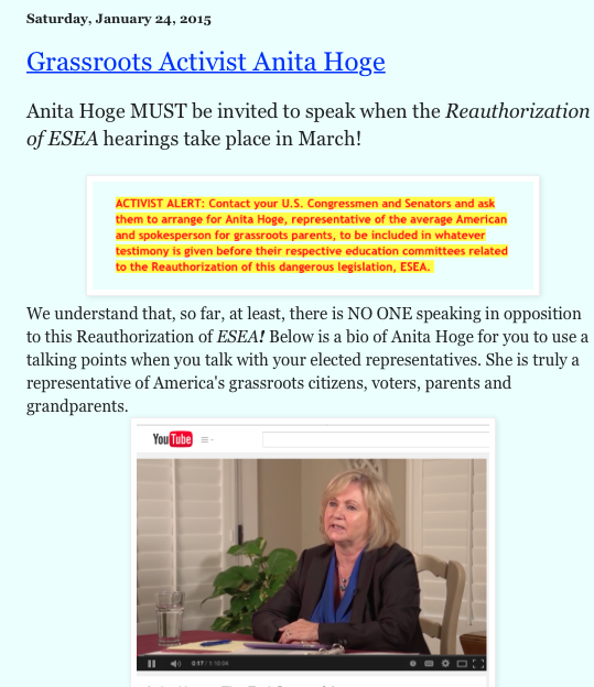 STOP REAUTHORIZATION OF ESEA - Agenda 21 News