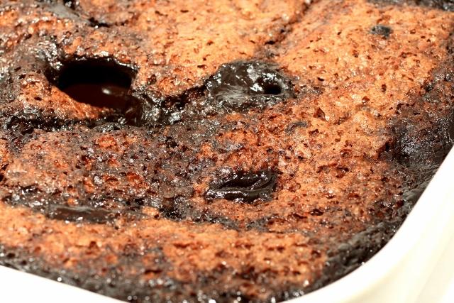 Torta de chocolate caliente - Hot fudge cake