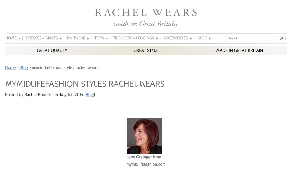 My Midlife Fashion Rachel Wears